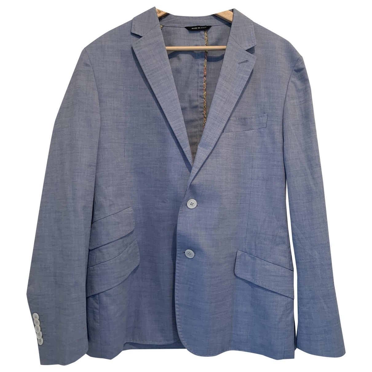 Paul Smith \N Blue Cotton jacket  for Men 44 IT