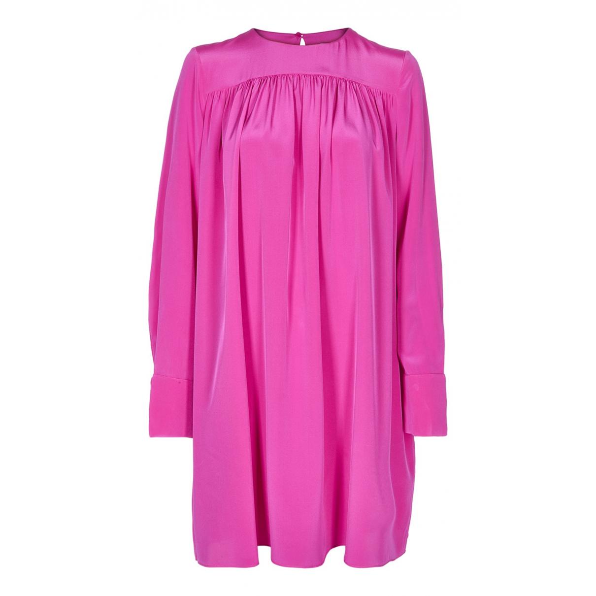Diane Von Furstenberg N Pink Silk dress for Women 10 UK