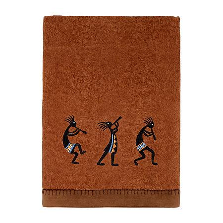 Avanti Zuni Embellished Bath Towel, One Size , Brown