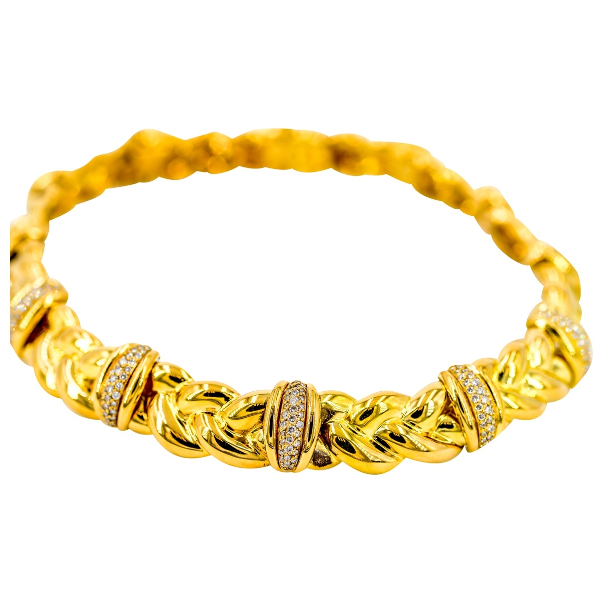 Collar de Oro amarillo O.j. Perrin