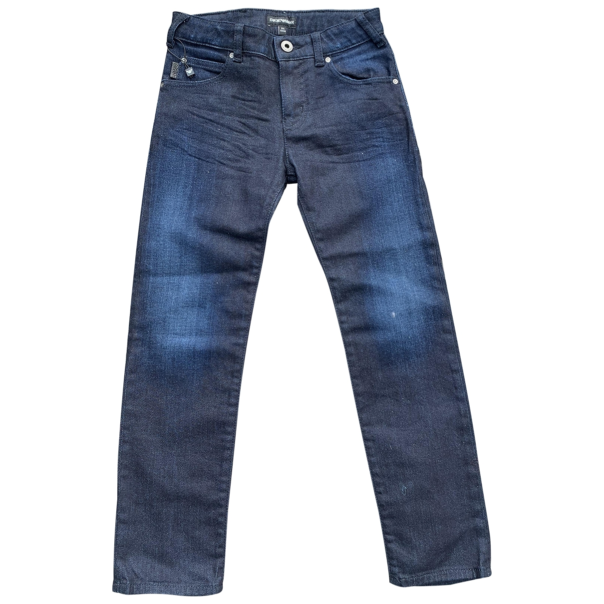 Emporio Armani \N Blue Cotton Trousers for Kids 8 years - up to 128cm FR
