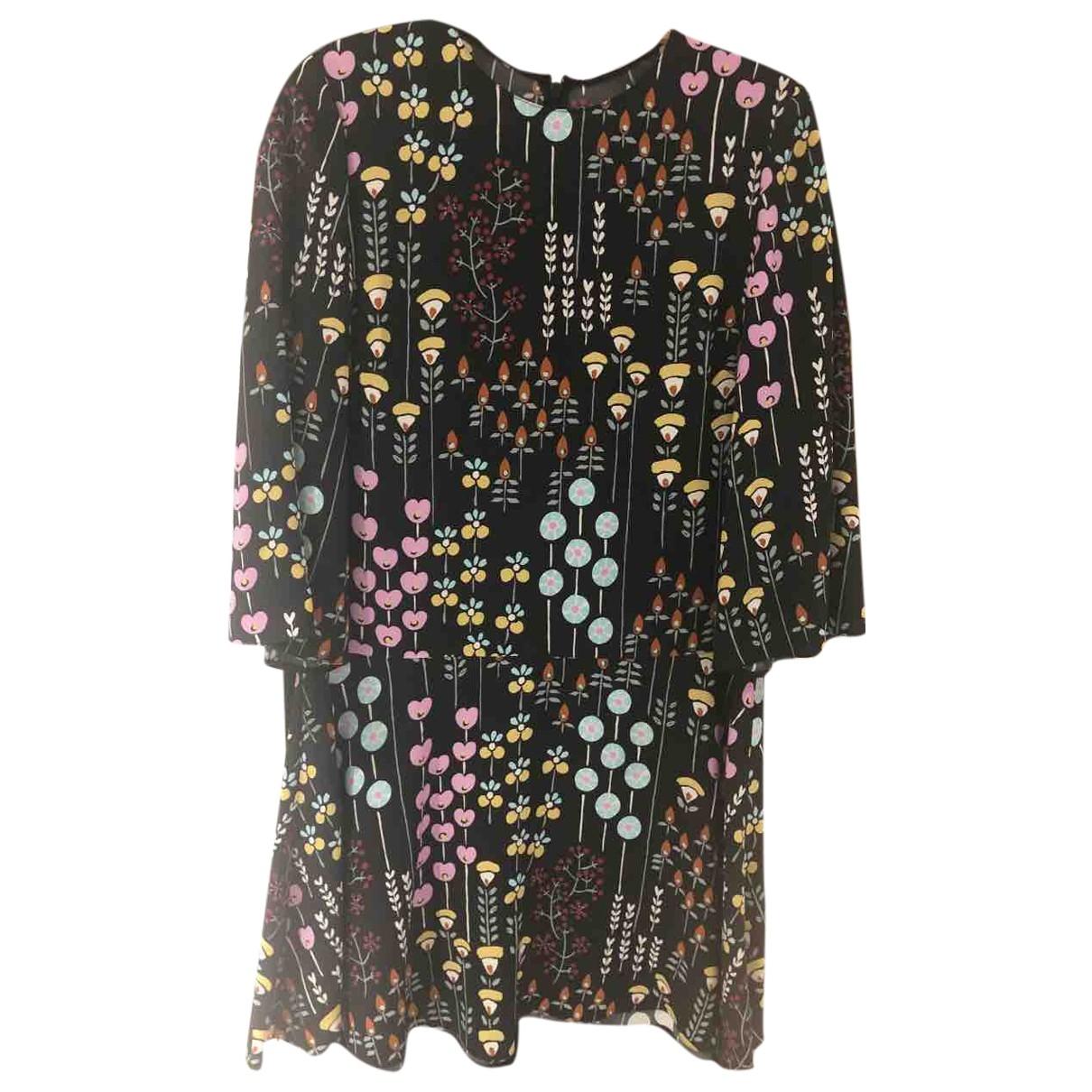 Valentino Garavani \N Multicolour Silk dress for Women 42 IT