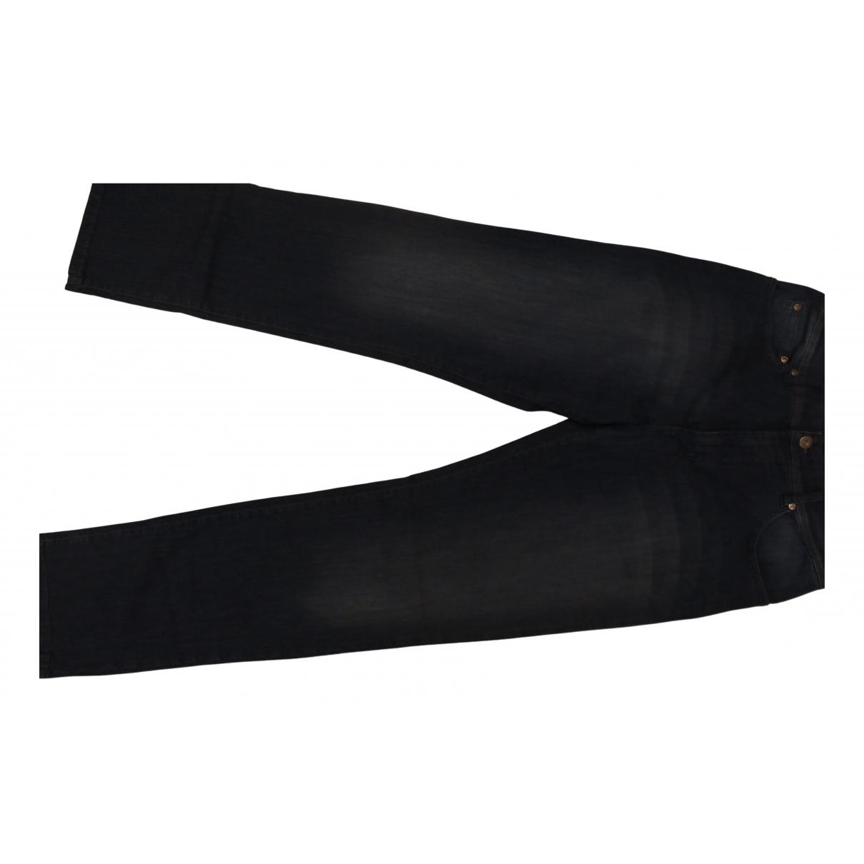 Pierre Cardin N Blue Cotton - elasthane Jeans for Men 34 US