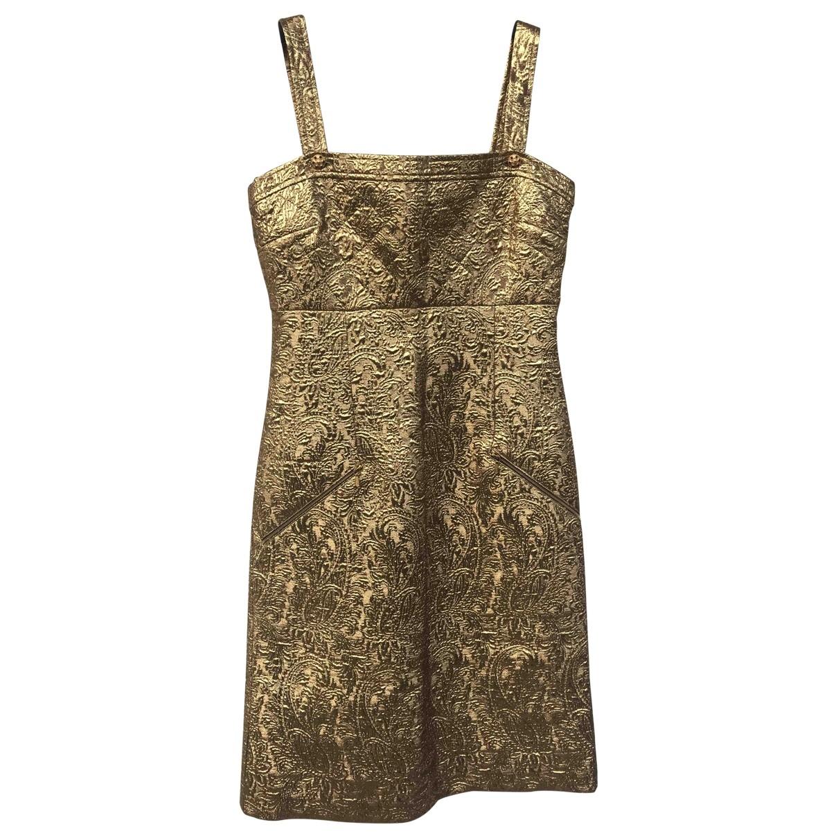 Chanel \N Gold dress for Women 40 IT