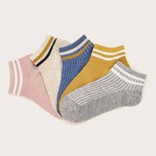 Calcetines A rayas Multicolor Casual