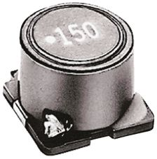 TDK , SLF Wire-wound SMD Inductor 150 μH ±20% Wire-Wound 1.6A Idc (10)