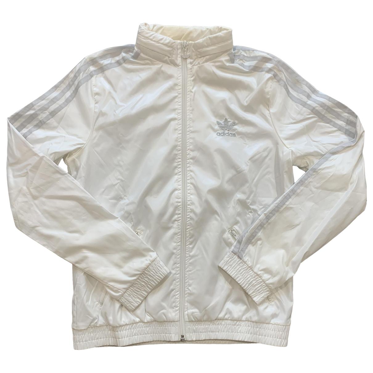 Adidas \N White jacket for Women 36 IT