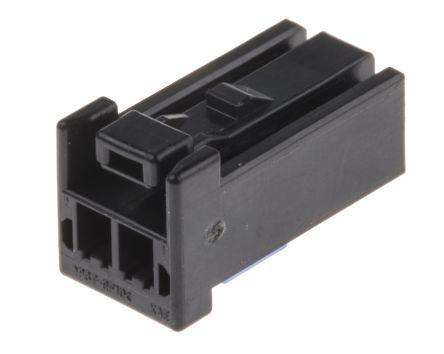 JST , CPT Automotive Connector Socket 1 Row 2 Way, Crimp Termination, Black (5)