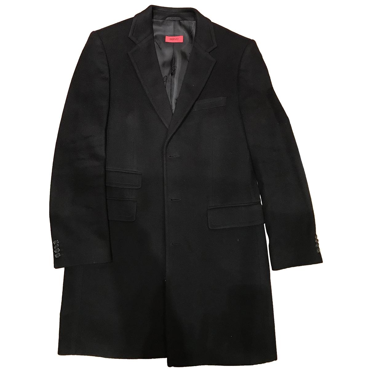 Hugo Boss \N Black Cashmere coat  for Men 50 FR