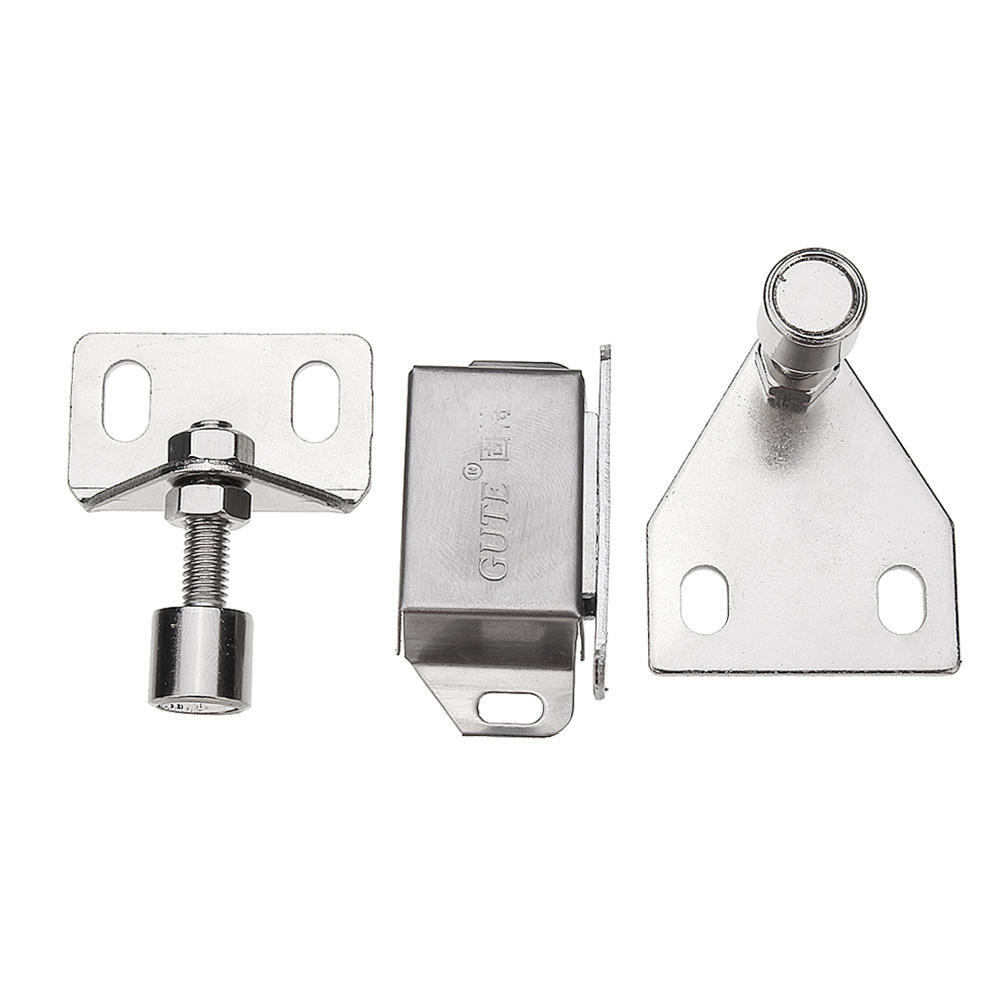 Magnetic Door Stopper Stainless Steel Door Suction Catch Door Holder for 30 40 Series Aluminum Extrusions
