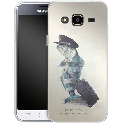 Samsung Galaxy J3 (2016) Silikon Handyhuelle - The Pilot von Eric Fan