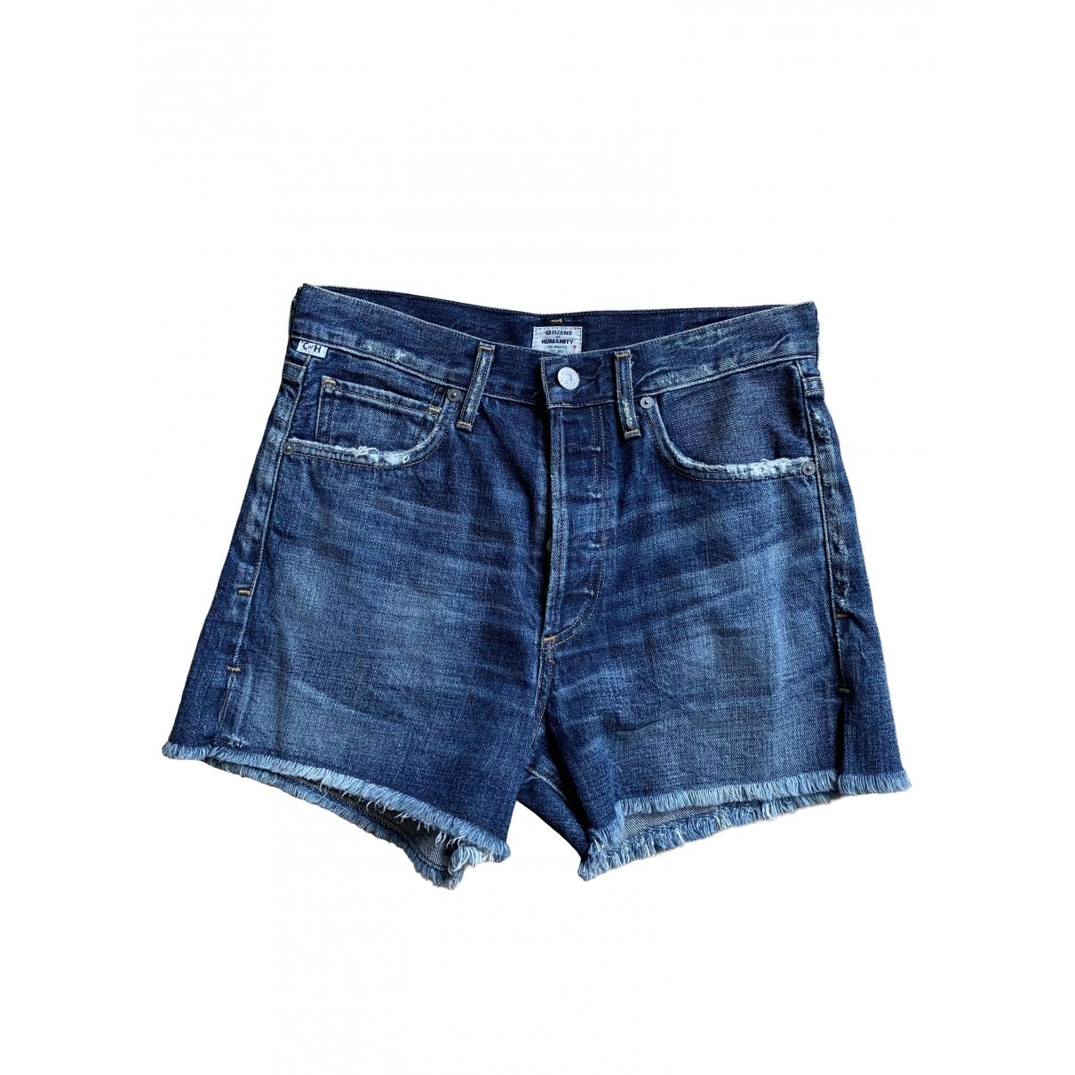 Citizens Of Humanity \N Shorts in  Blau Baumwolle