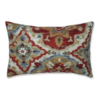 The Curated Nomad Zil Harvest Throw Pillow (18.5 x 11.5 inch Throw Pillow)