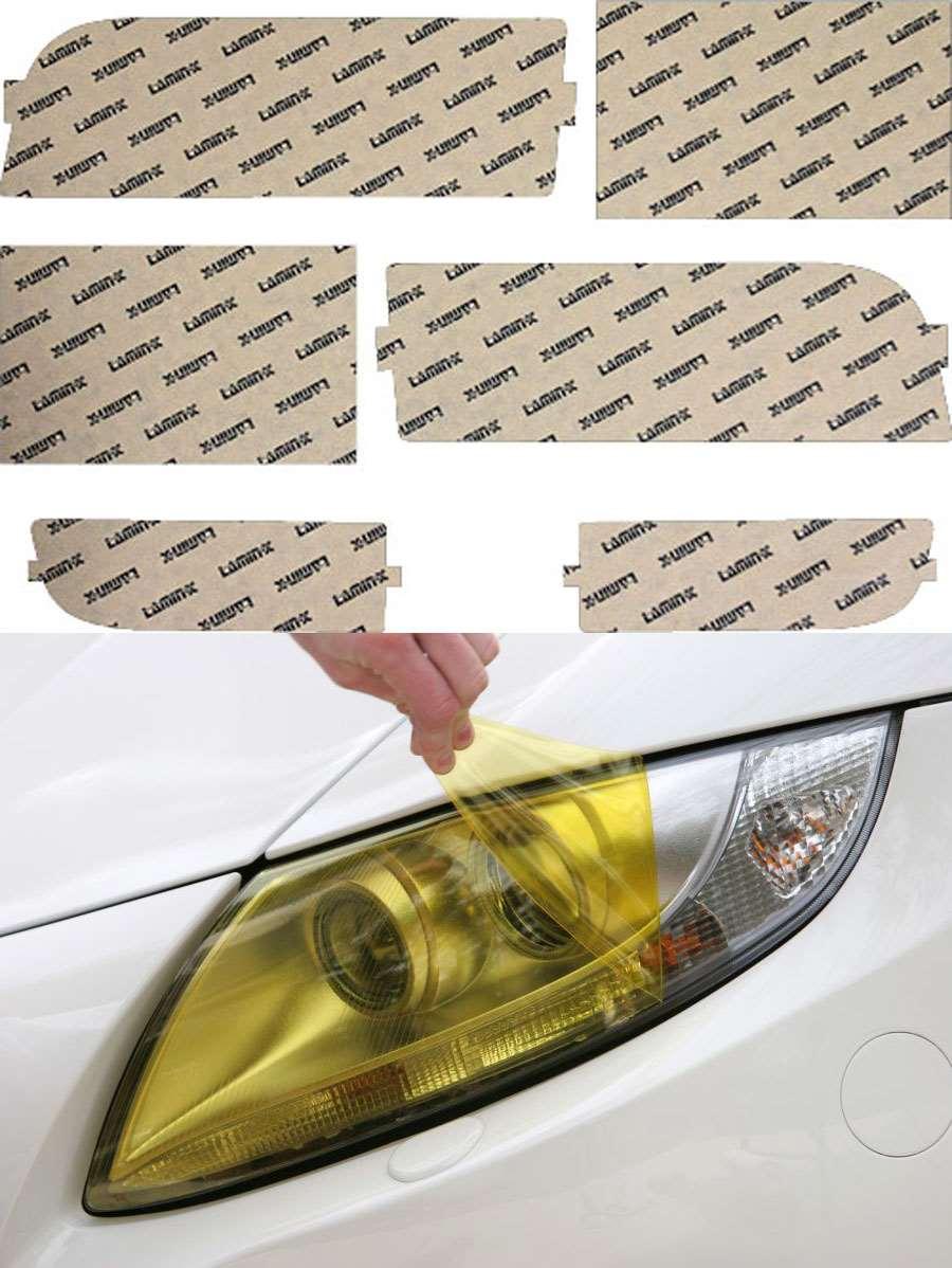 BMW 7-series 95-98 Yellow Headlight Covers Lamin-X B020Y