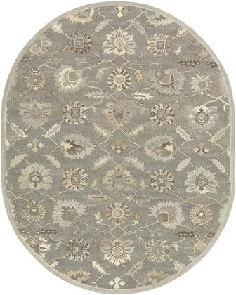 Caesar CAE-1199 6' x 9' Oval Traditional Rug in