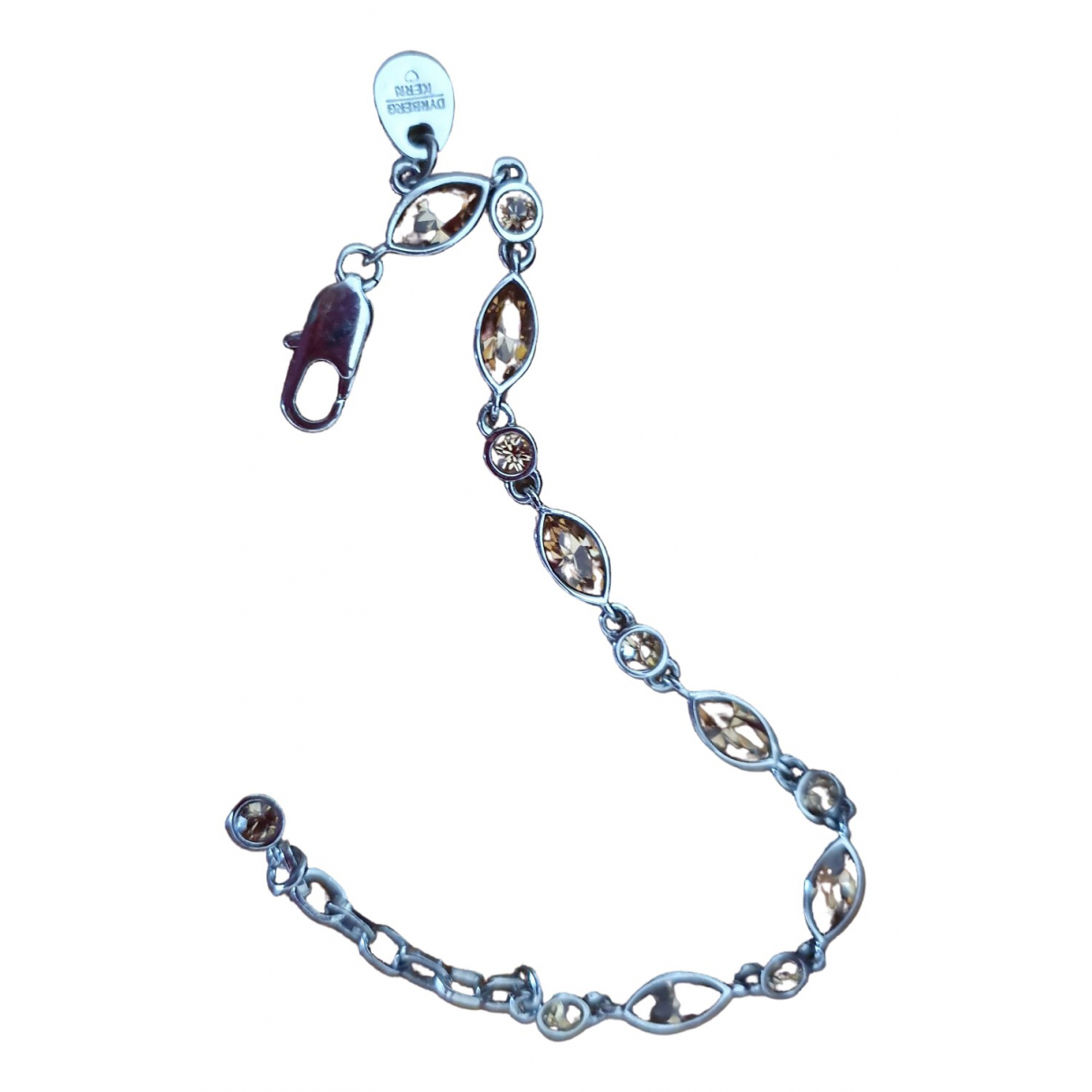 Dyrberg/kern \N Armband in  Braun Silber