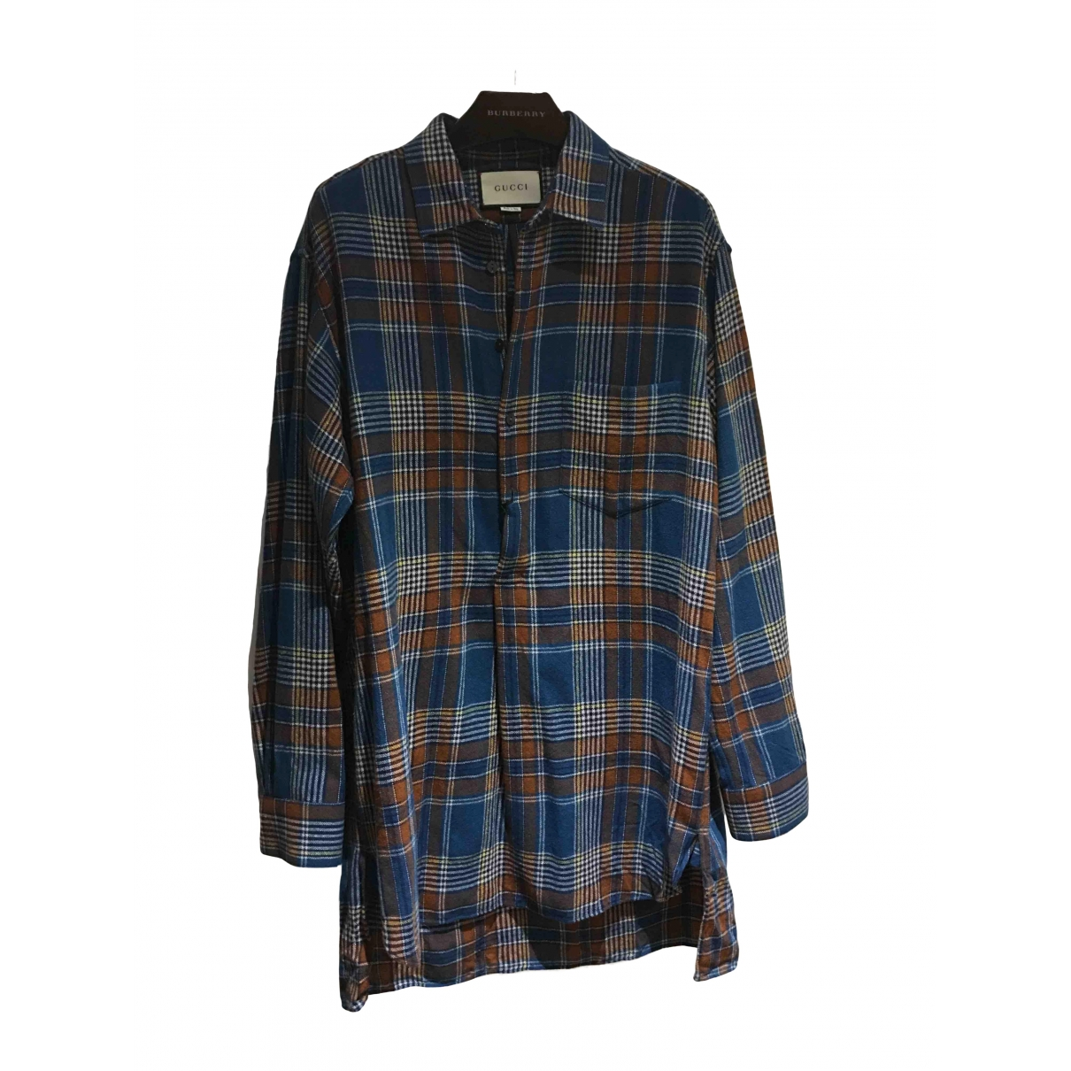 Gucci \N Multicolour Wool Shirts for Men 50 IT