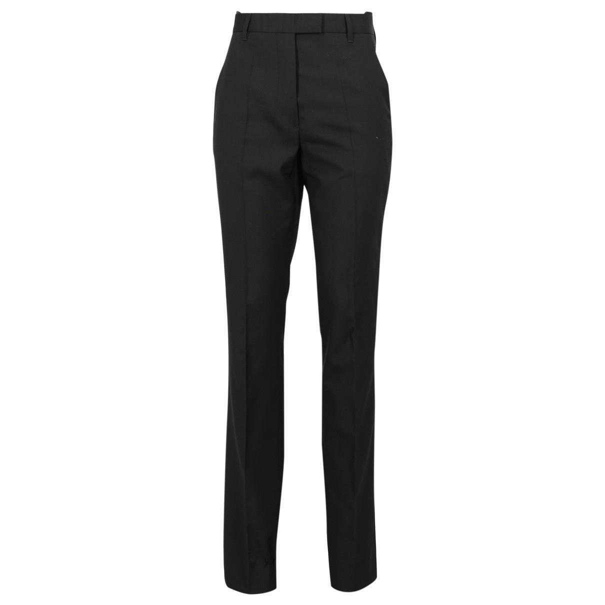 Helmut Lang \N Black Trousers for Women 42 IT
