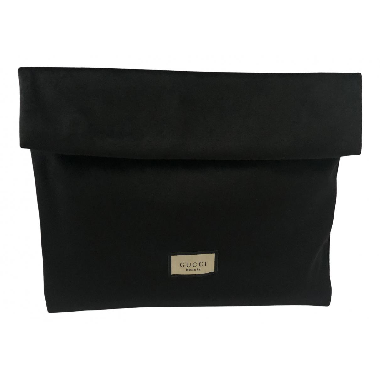Bolsos clutch en Poliester Negro Gucci