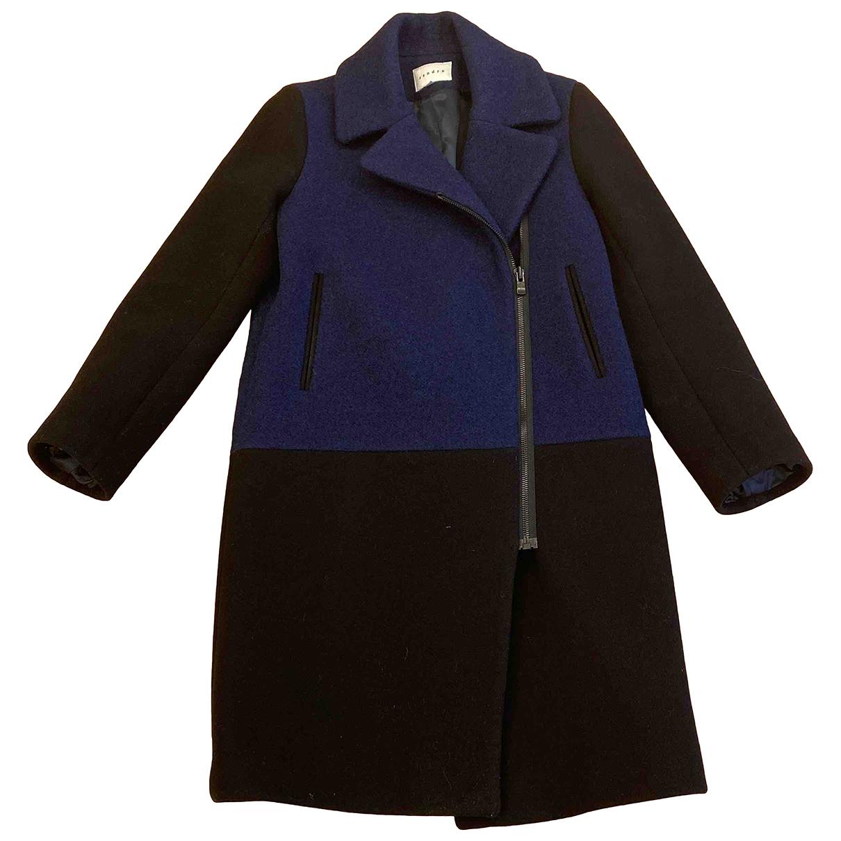 Sandro N Multicolour Wool coat for Women 38 FR