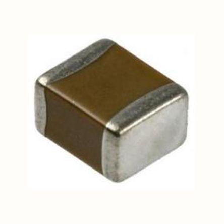 KEMET 1812 (4532M) 100nF Multilayer Ceramic Capacitor MLCC 100V dc ±5% SMD C1812C104J1GACTU (1000)
