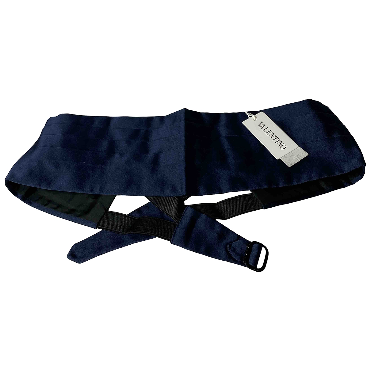 Valentino Garavani \N Blue Silk belt for Women M International