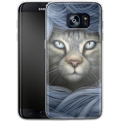Samsung Galaxy S7 Edge Silikon Handyhuelle - Ripple von Dan May