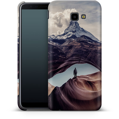 Samsung Galaxy J4 Plus Smartphone Huelle - The Great Outdoors von Enkel Dika