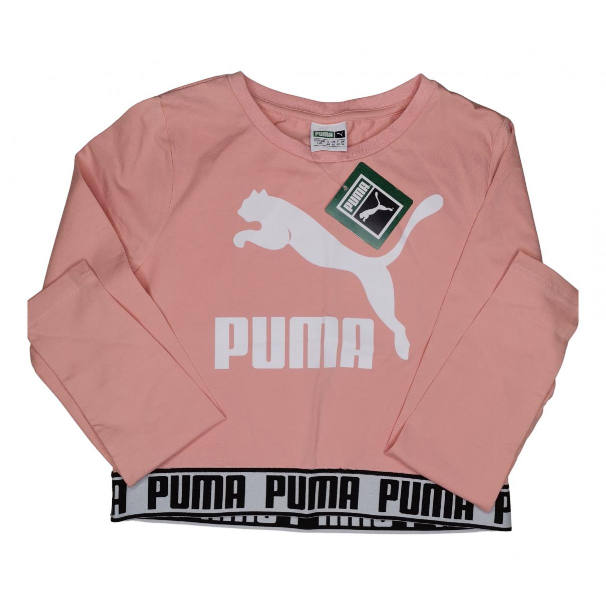 Puma - Top   pour femme en coton - rose