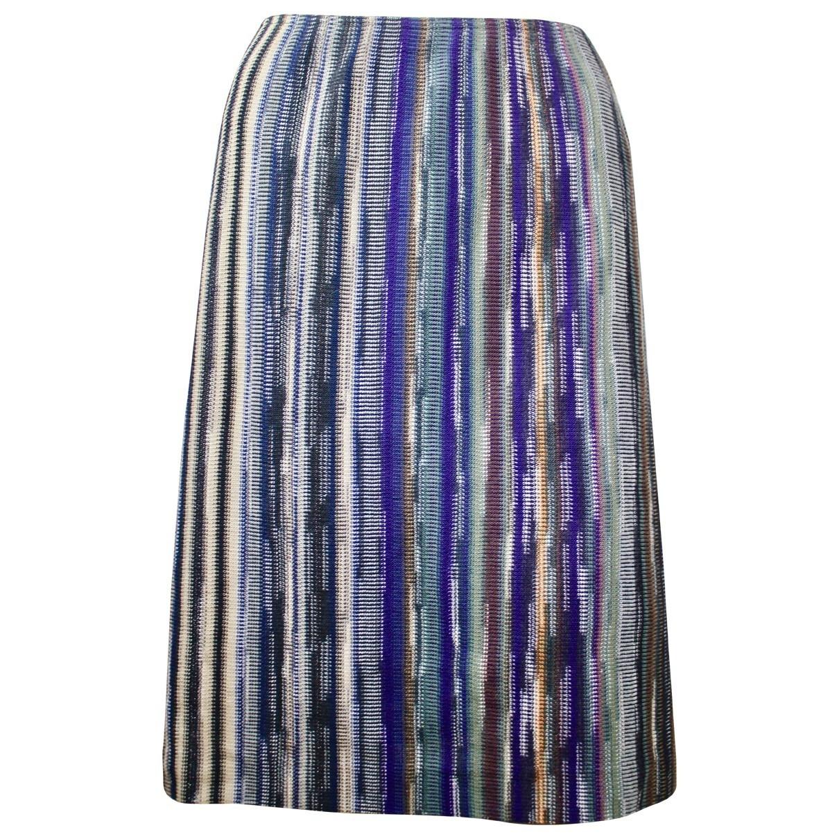 Missoni - Jupe   pour femme en laine - multicolore