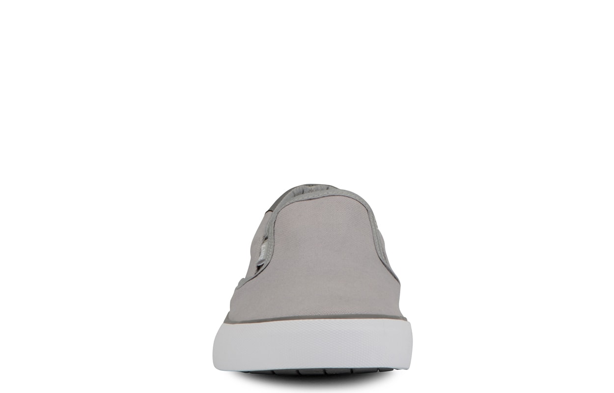 Men's Clipper Slip-On Sneaker (Choose Your Color: ALLOY/CHARCOAL/WHITE, Choose Your Size: 9.0)