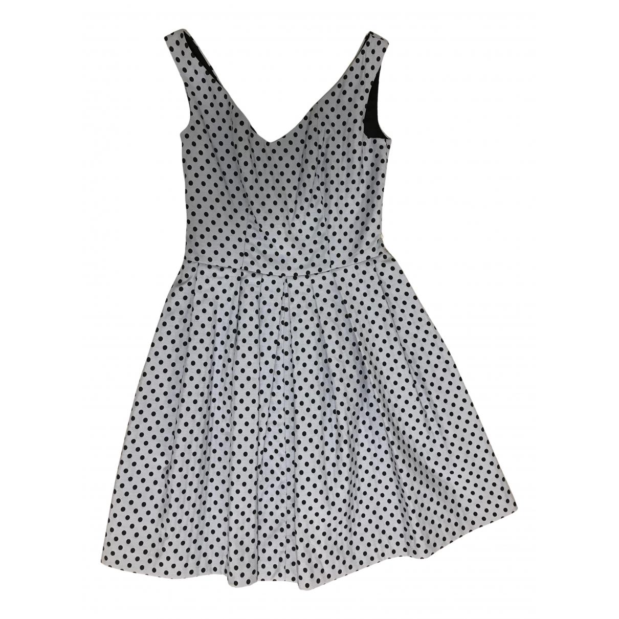 Pinko \N Kleid in  Tuerkis Baumwolle