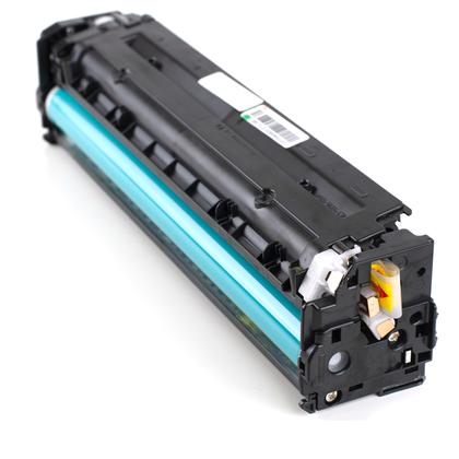 Compatible HP LaserJet Pro CM1410 Series Yellow Toner Cartridge - Moustache