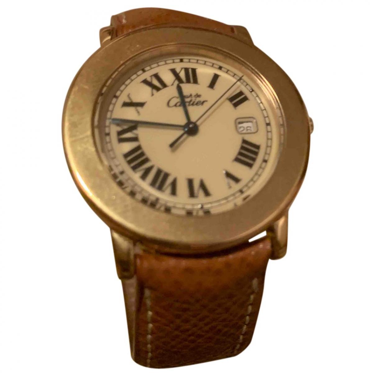 Reloj de Bermellon Cartier