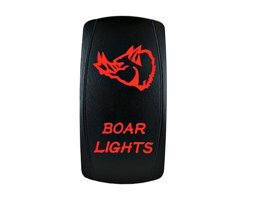 STV Motorsports SLR1261 Boar Lights Laser Rocker Switch