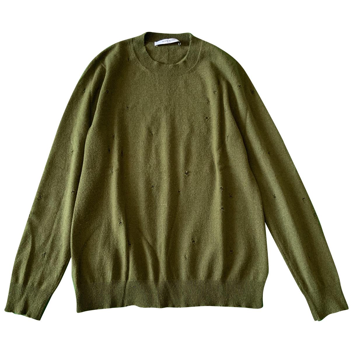 Givenchy \N Pullover.Westen.Sweatshirts  in  Khaki Kaschmir