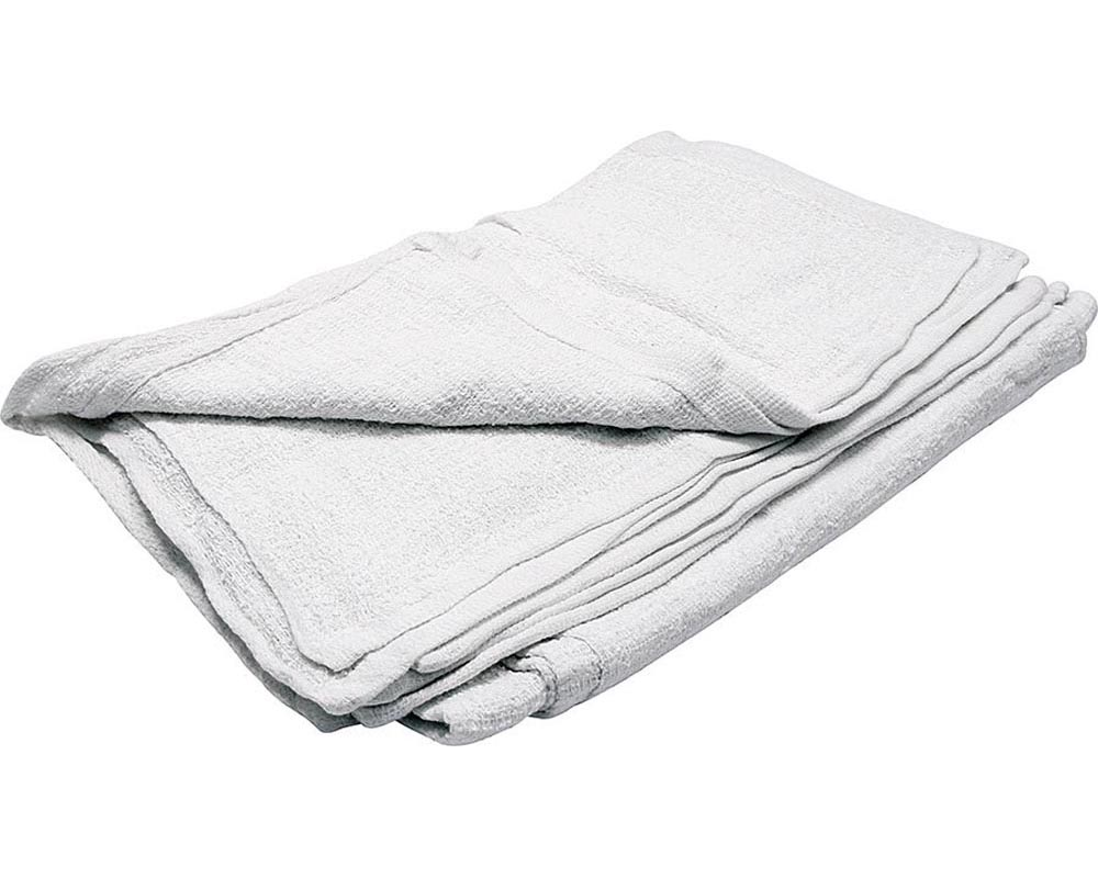 Allstar Performance ALL12012 Terry Towels White 12pk  ALL12012