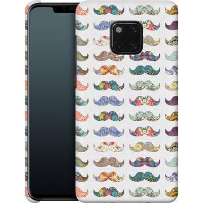 Huawei Mate 20 Pro Smartphone Huelle - Mustache Mania von Bianca Green