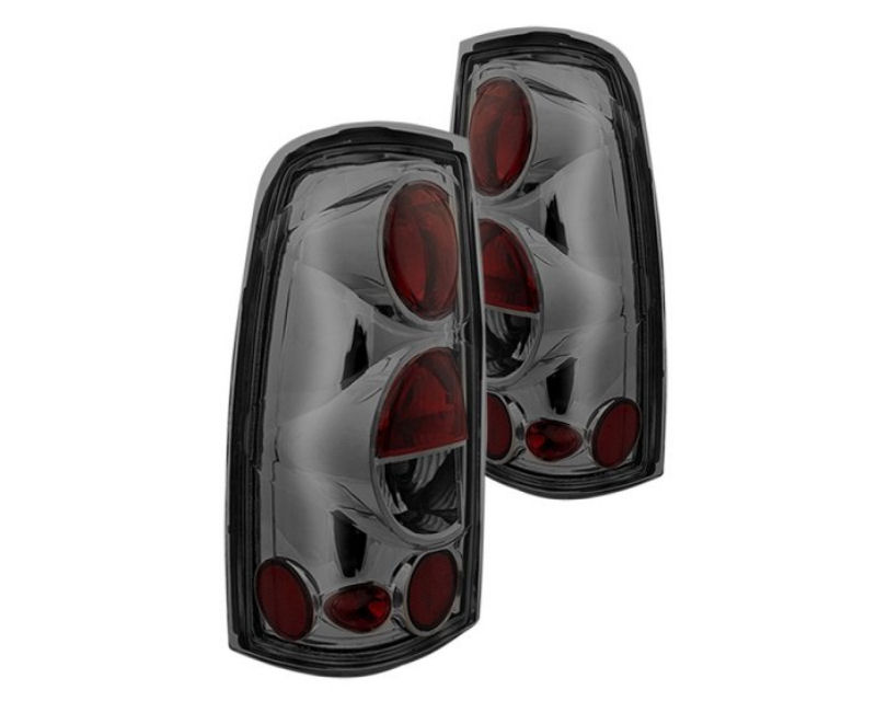Winjet WJ20-0004-02 Smoke Chrome Altezza Tail Lights Chevrolet Silverado 01-06