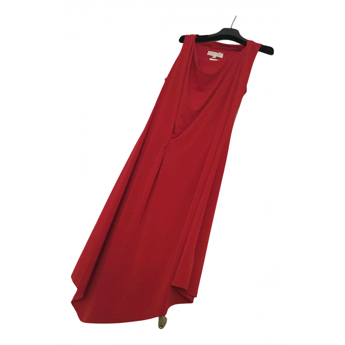 Michael Kors \N Kleid in  Rot Polyester