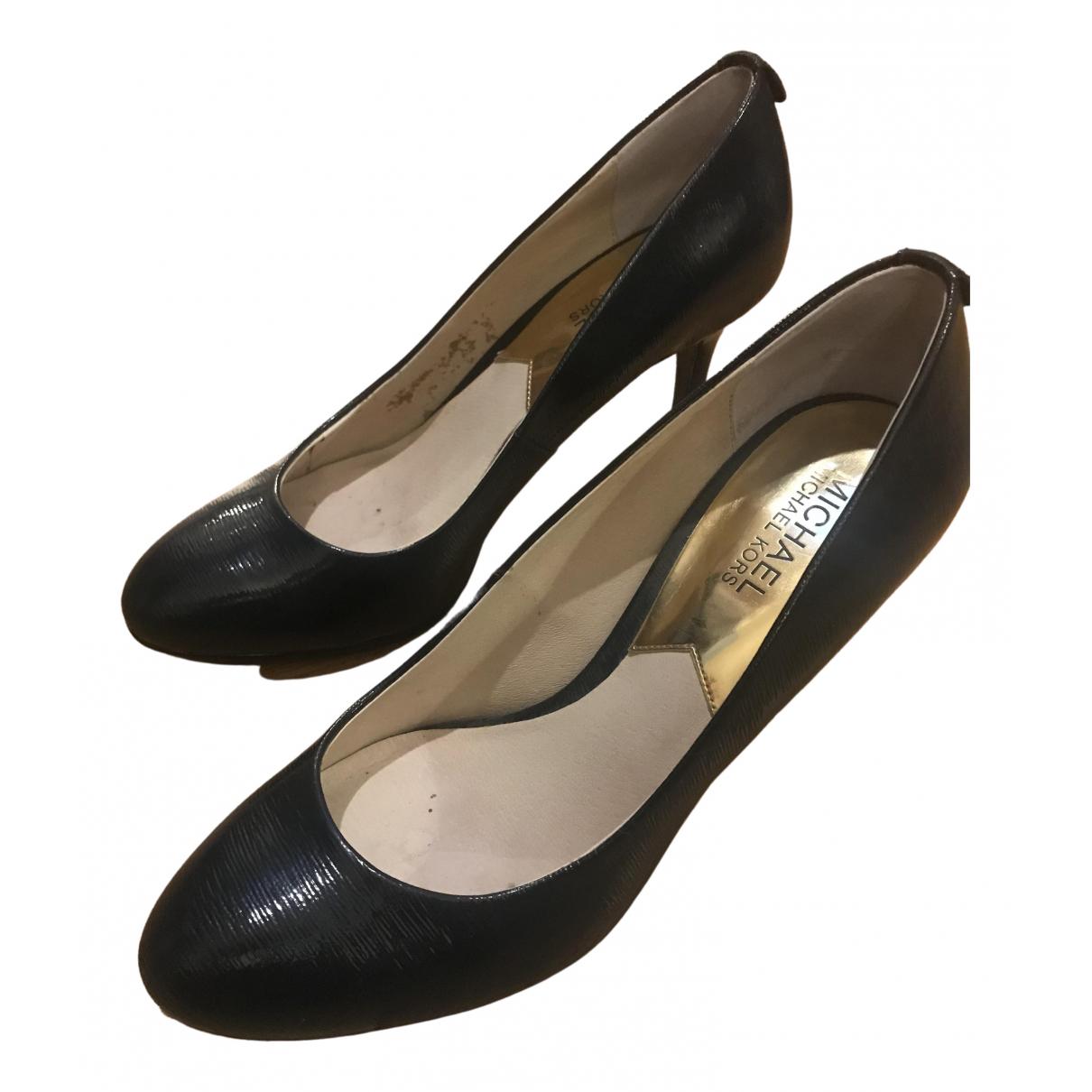 Michael Kors \N Blue Leather Heels for Women 8.5 US