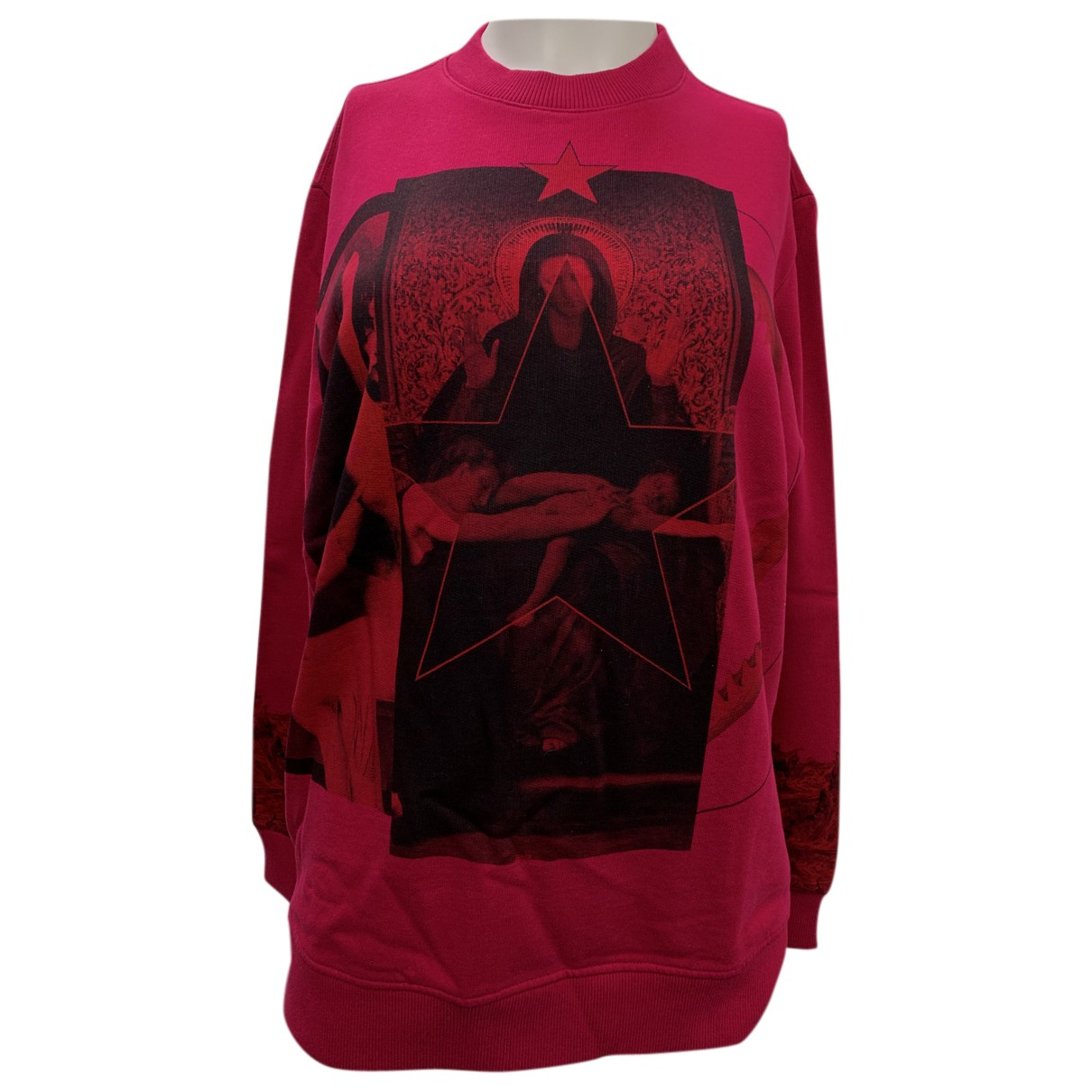 Givenchy - Pull   pour femme en coton - rose