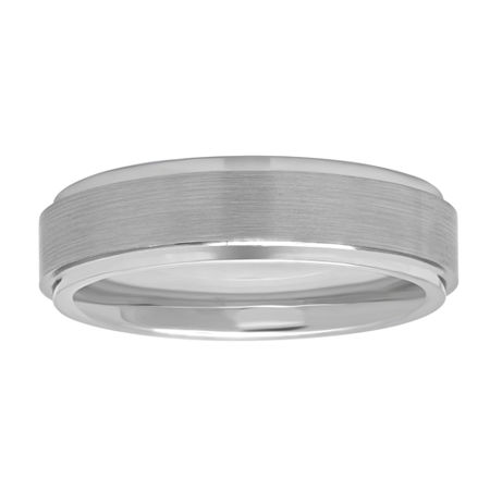 6MM Tungsten Wedding Band, 9 , No Color Family