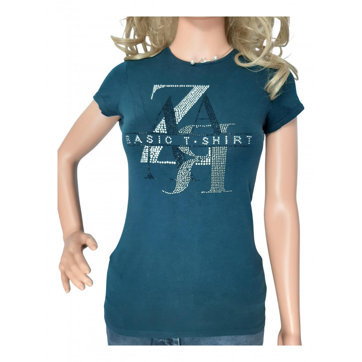 Zara N Blue Cotton  top for Women 36 FR