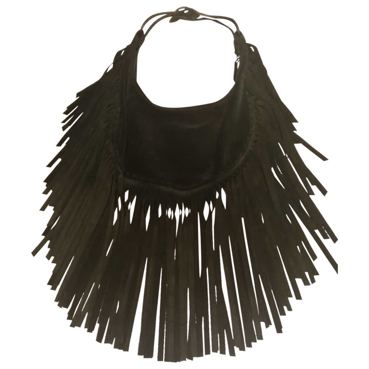 Valentino Garavani \N Green Suede handbag for Women \N