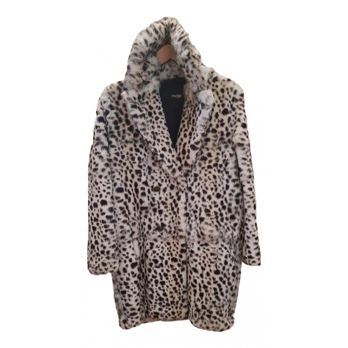 Maje \N White Rabbit coat for Women 1 0-5