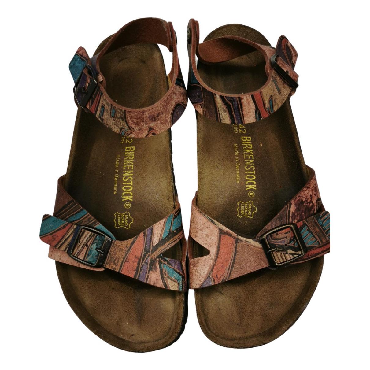Sandalias romanas de Cuero Birkenstock