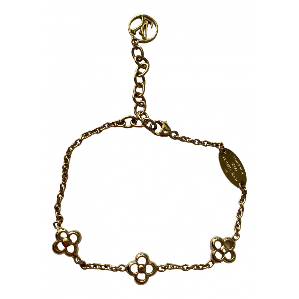 Louis Vuitton \N Armband in  Gold Metall