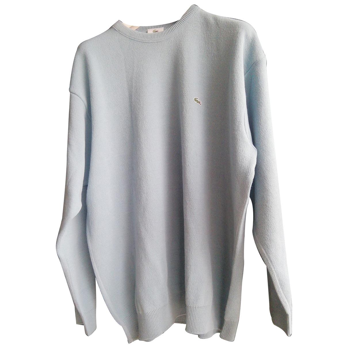 Lacoste \N Blue Wool Knitwear & Sweatshirts for Men XXXL International