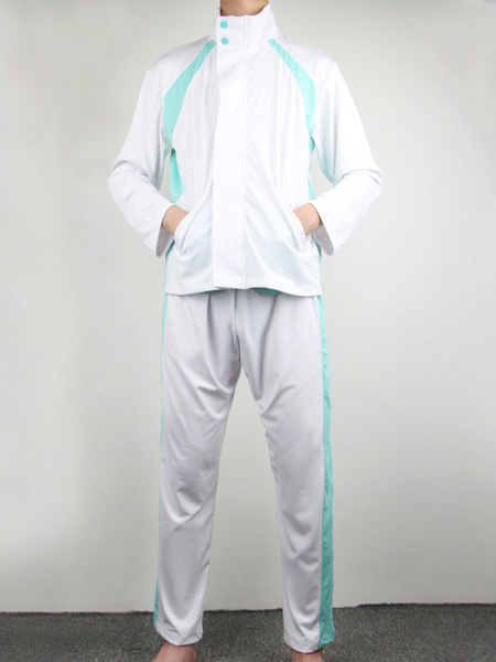Milanoo Haikyuu !! Aoba Johsai High School Oikawa Tooru uniforme escolar chaquetas hombres abrigo Cosplay disfraces Halloween